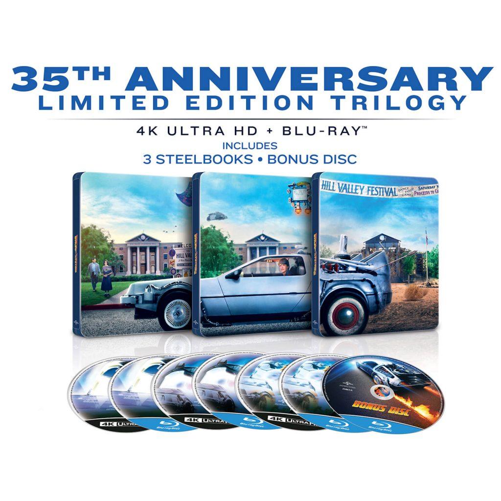 Edición 35 aniversario de la saga completa de Regreso al futuro