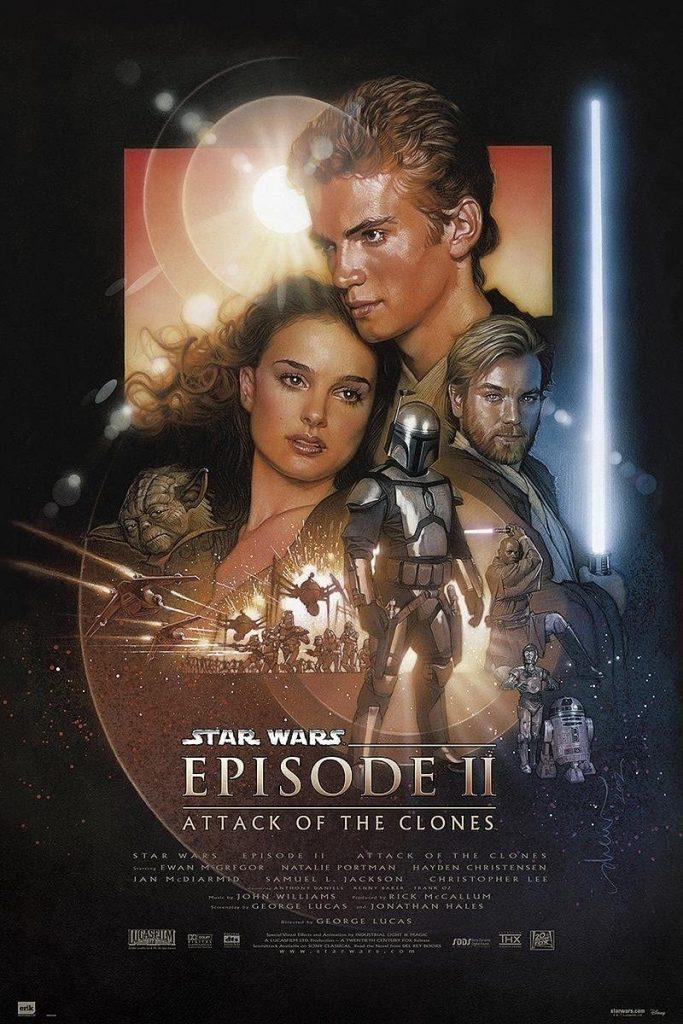 Ranking Star Wars: episidio II el ataque de los clones