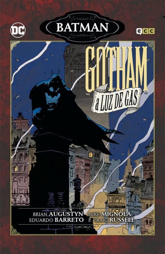 Portada de Gotham a luz de gas. ECC