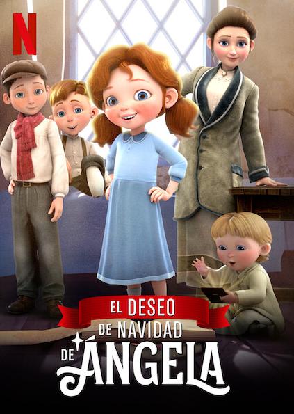El deseo de Navidad de Ángela' es el conmovedor relato de una niña muy decidida que se propone reunir a toda su familia a tiempo para Navidad. Estrenos Netflixºº