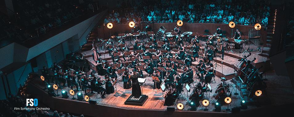 FSO en concierto en el Auditorio Nacional de Madrid. FSO