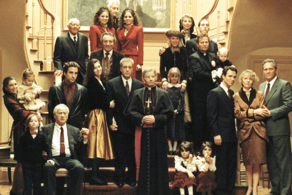 La 'familia feliz' en una foto para la posteridad