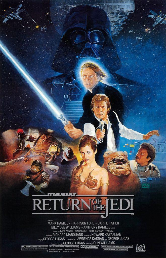 Ranking Star Wars episodio VI el retorno del Jedi
