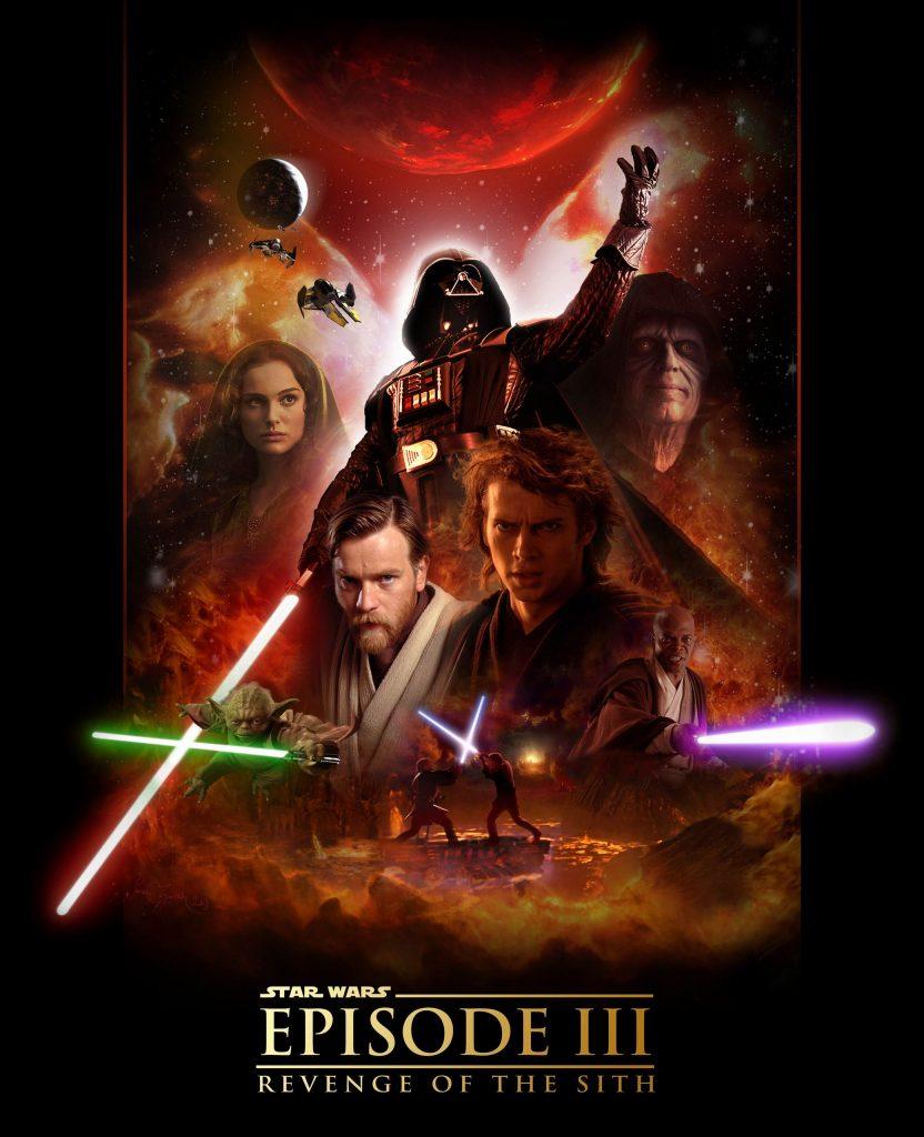 Ranking star wars. episodio III la venganza de los Sith