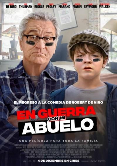 'En guerra con mi abuelo': De Niro vuelve a la comedia
