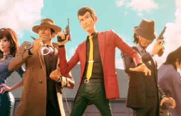 Lupin y varios personajes habituales