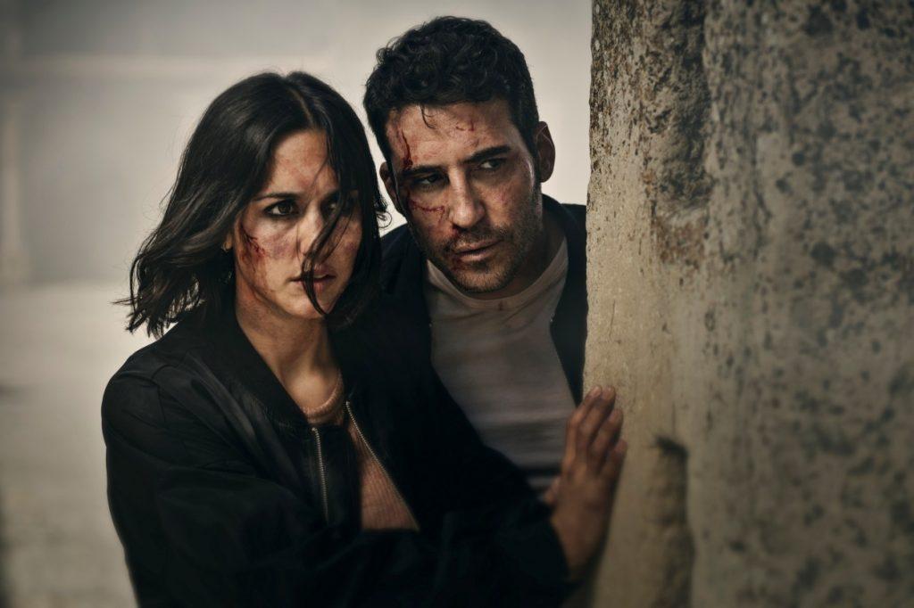 Megan Montaner y Miguel Ángel Silvestre 30 Monedas HBO