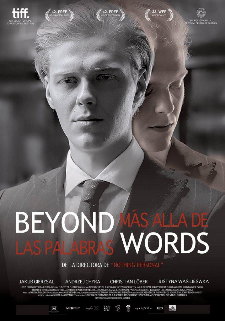 Cartel de Más allá de las palabras. Surtsey Films