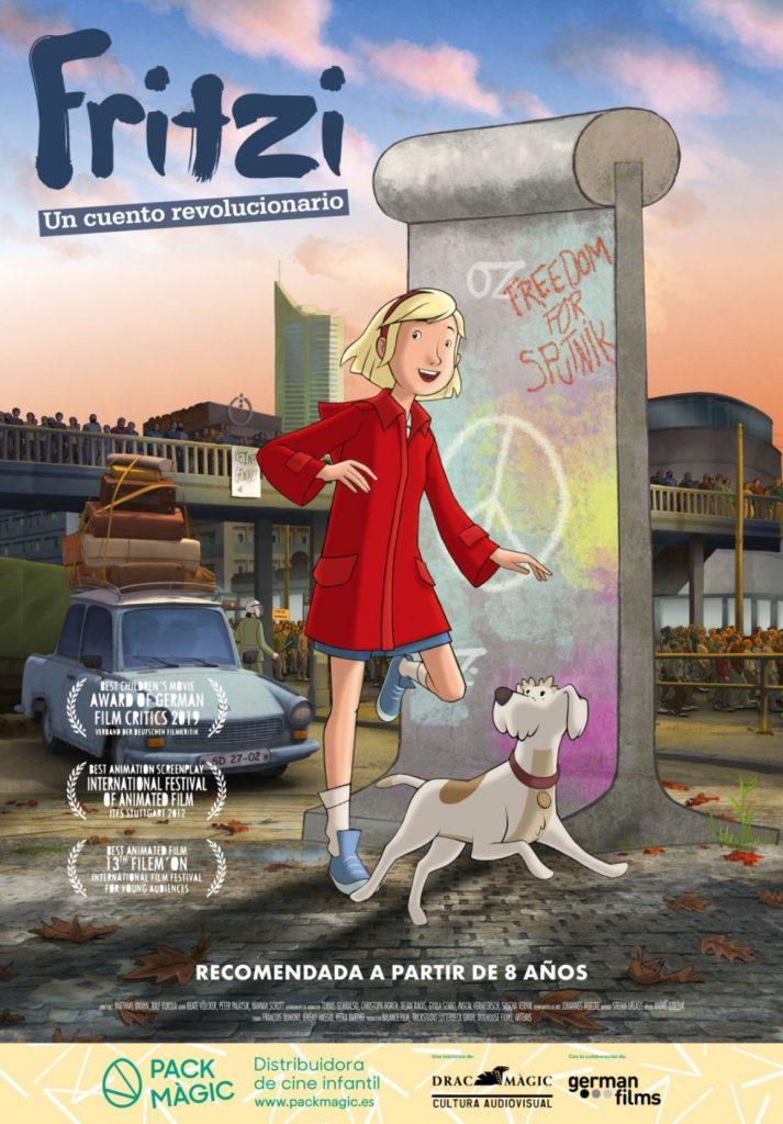 Cartel de Fritzi: Un cuento revolucionario. Pack Màgic. Una animación adulta entre los estrenos del 15 de enero