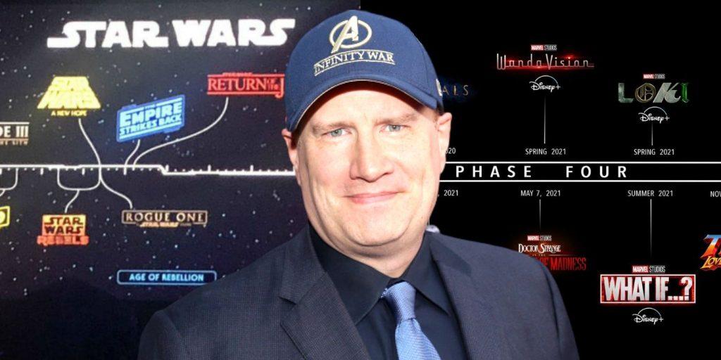 Kevin Feige también interesado en la franquicia de Star Wars