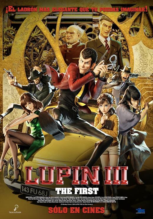 Cartel de 'Lupin III: The First'. Una anicaión entre los estrenos del 29 de enero gracias a SELECTA VISIÓN