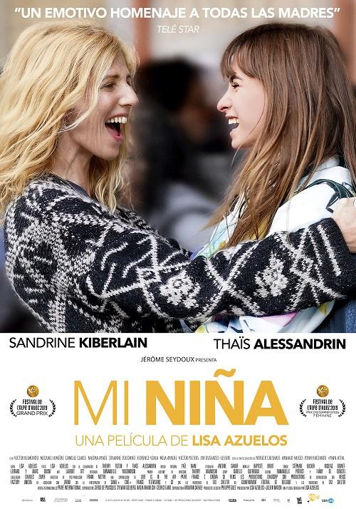 Cartel de 'Mi niña'. VERCINE. Una comedia francesa entre los estrenos del 29 de enero