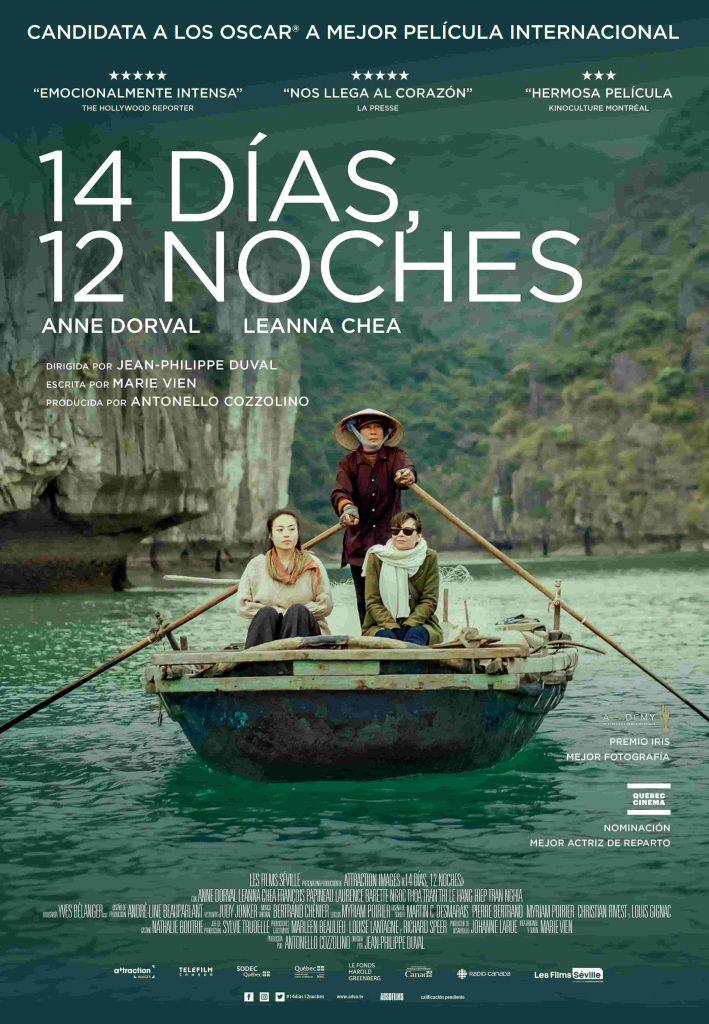 Una candidata a un Oscar entre los estrenos del 19 de febrero. Cartel de '14 días, 12 noches'. ADSO