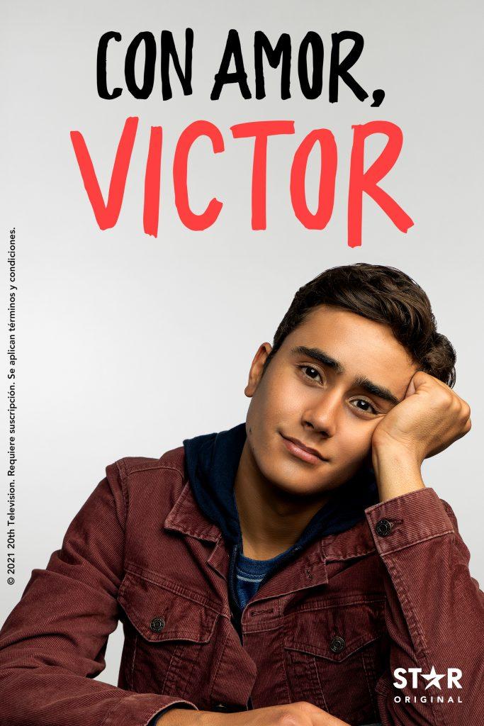 Cartel de la serie Con amor, Victor. DISNEY+