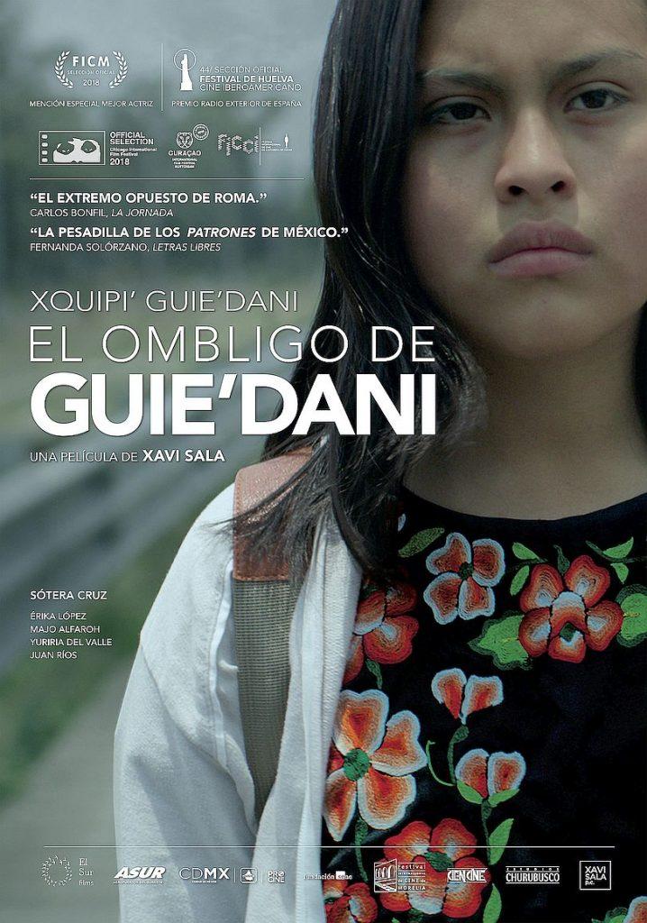 Crítica social en los estrenos del 12 de febrero. Cartel de El ombligo de Guie'dani.