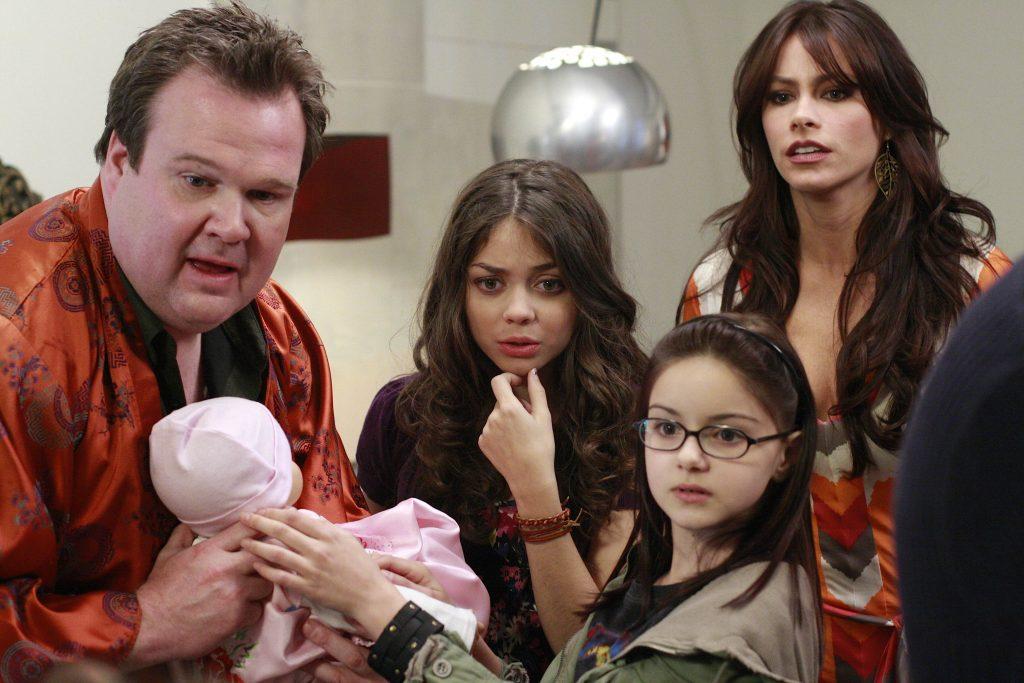 Secuencia de la serie Modern Family.