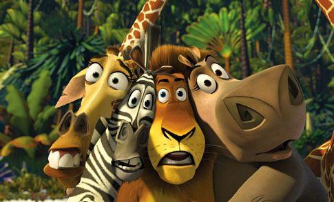 Escena de 'Madagascar'. DREAMWORKS
