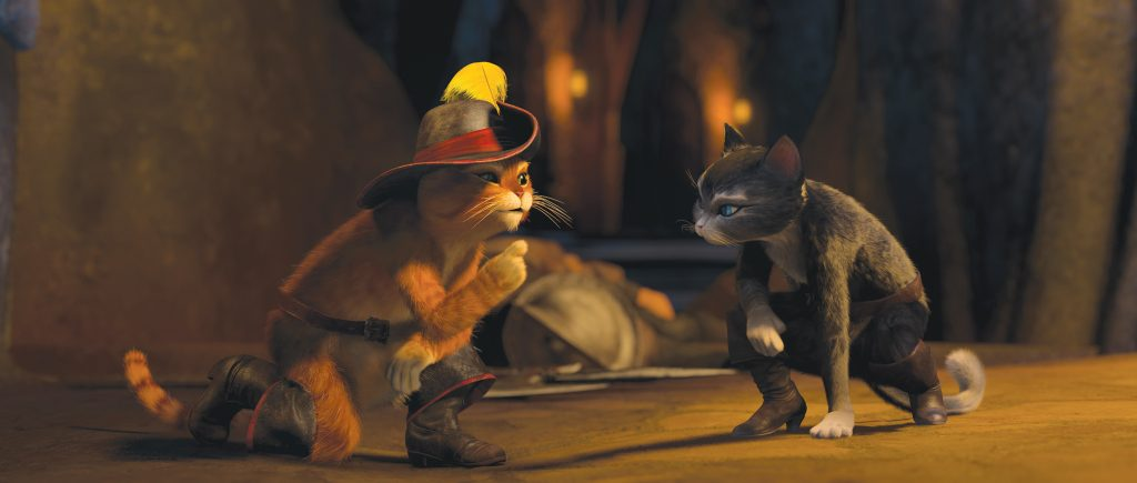 Escena de 'El Gato con botas'. DREAMWORKS