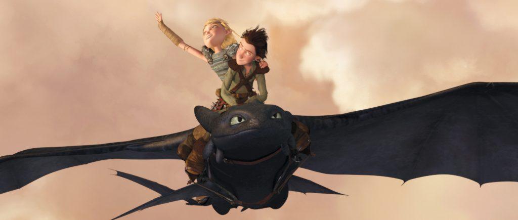 Fotograma de 'Cómo entrenar a tu dragón'. DREAMWORKS