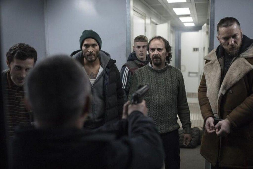 Luis Callejo, uno de los presos. NETFLIX