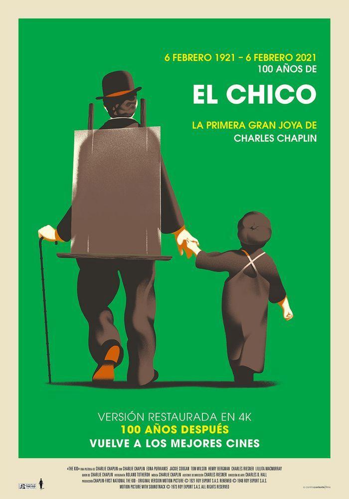 Cartel de 'El chico'. A CONTRACORRIENTE