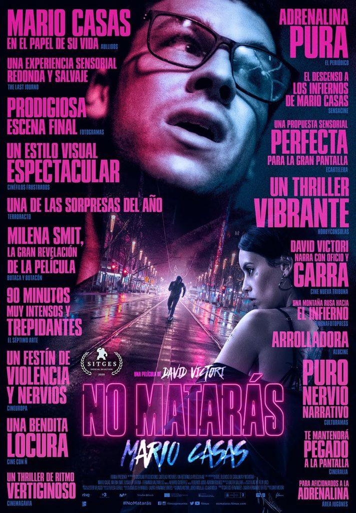 Póster de No matarás. IMDb
