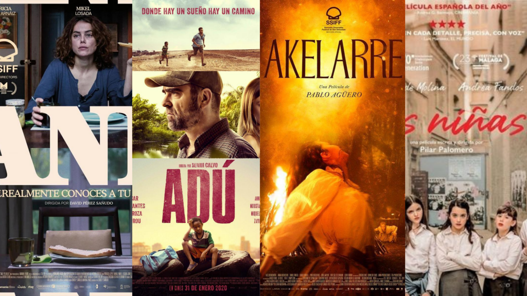 Ane', 'Adú', 'Akelarre' y 'Las niñas' las películas más galardonadas en estos premios Goya 2021