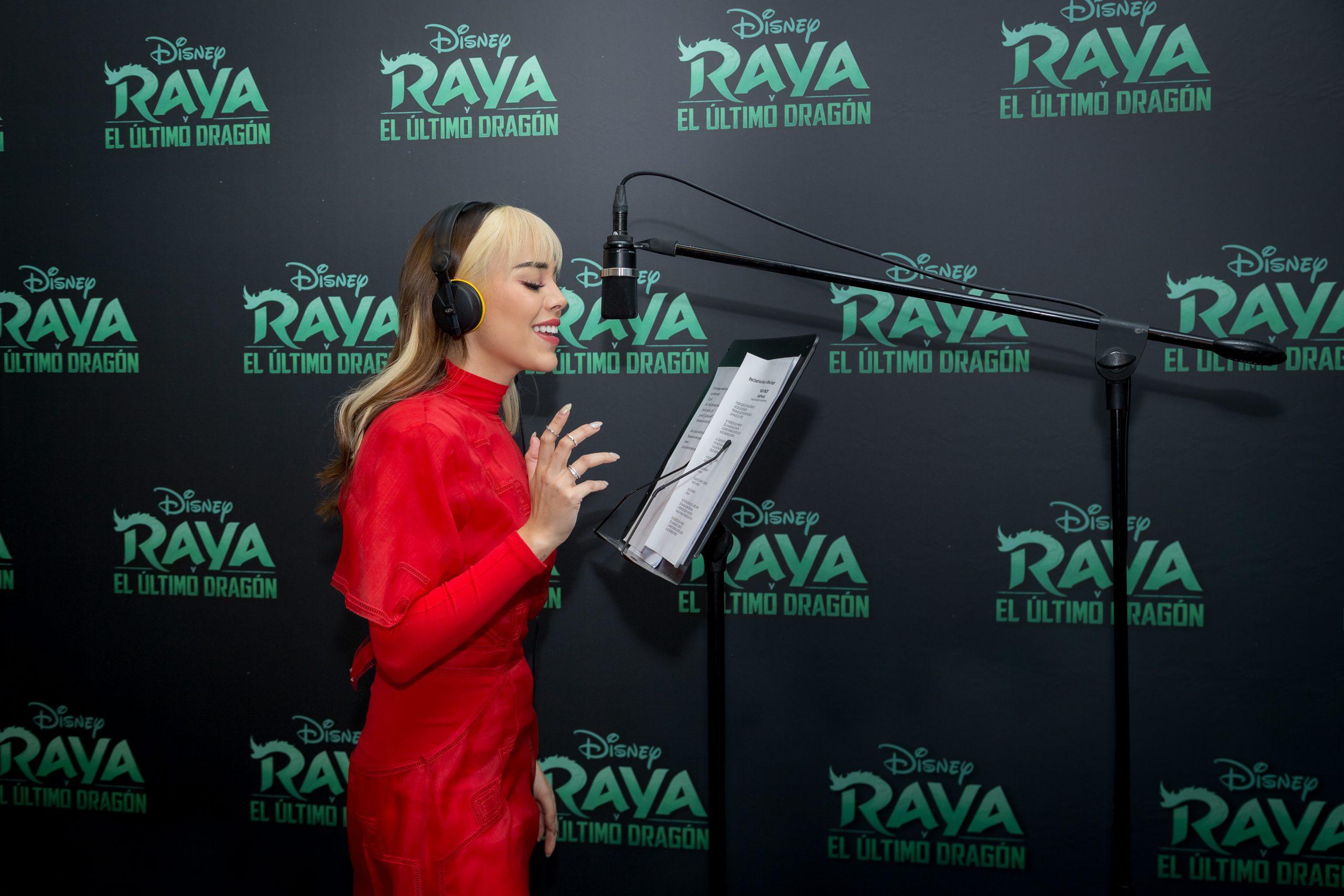 Ya está disponible el videoclip de Danna Paola de 'Raya y el último dragón'