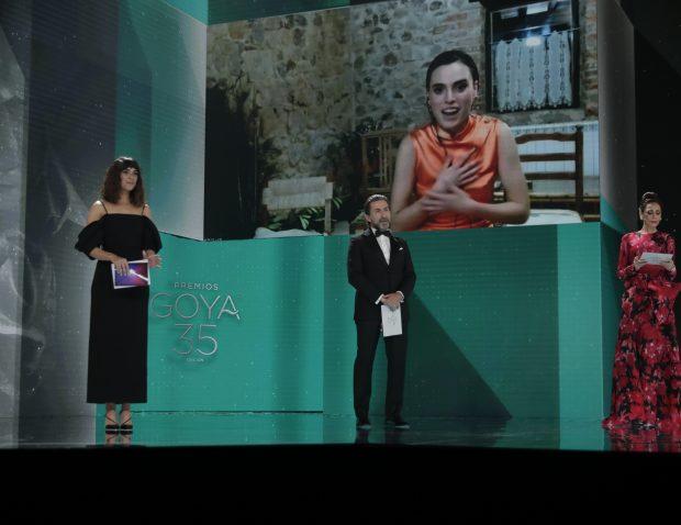 Jone Laspiur mejor actriz revelación en estos Premios Goya 2021. GOYA.ES
