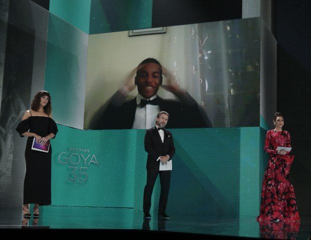 Adam Nourou primer actor de raza negra en recibir un Goya