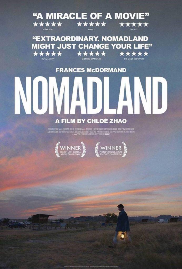 Nomadland se postula como la favorita. 20th Century Studios España
