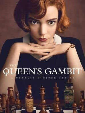 Cartel de gambito de dama. Anya Taylor-Joy se llevó el premio a mejor actriz de miniserie en los Globos de oro 2021