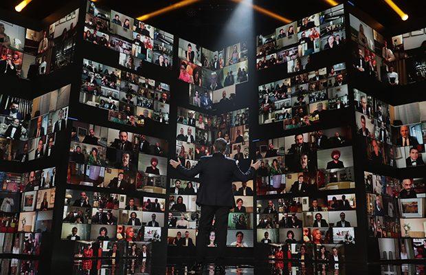 Antonio Banderas ante todos los nominados vía telemática