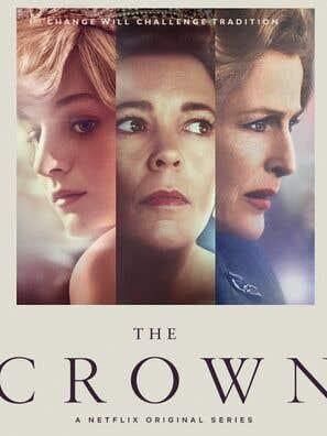 Cartel de The Crown.