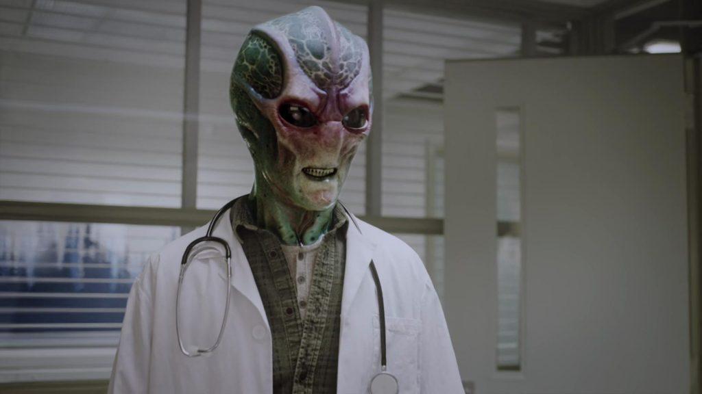 Harry Vanderspeigle el nuevo médico de Patience.