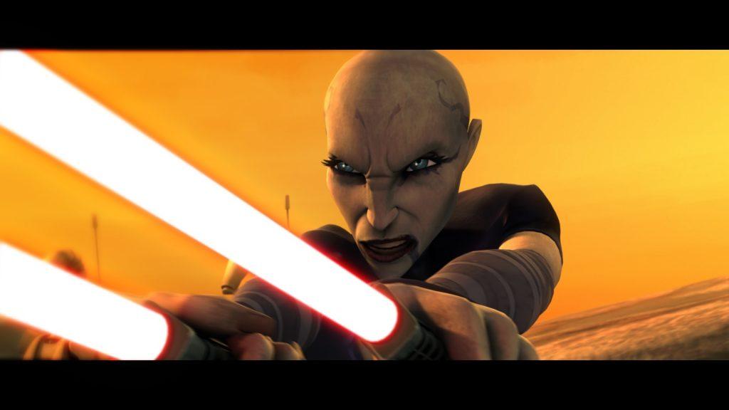 Asajj Ventress en la serie Star Wars: Clone Wars