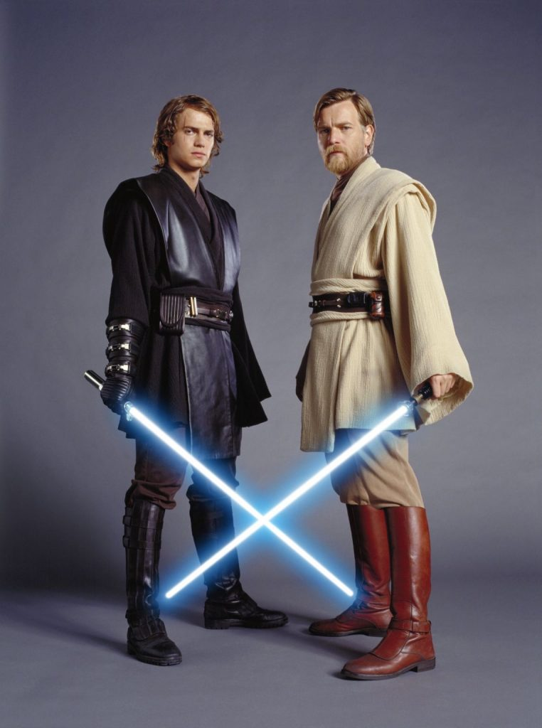 Hayden Christensen y Ewan McGregor como Anakin y Obi-Wan DISNEY