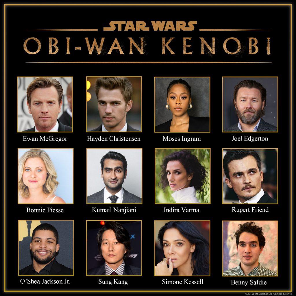 Casting cerrado de la serie Obi-Wan Kenob
