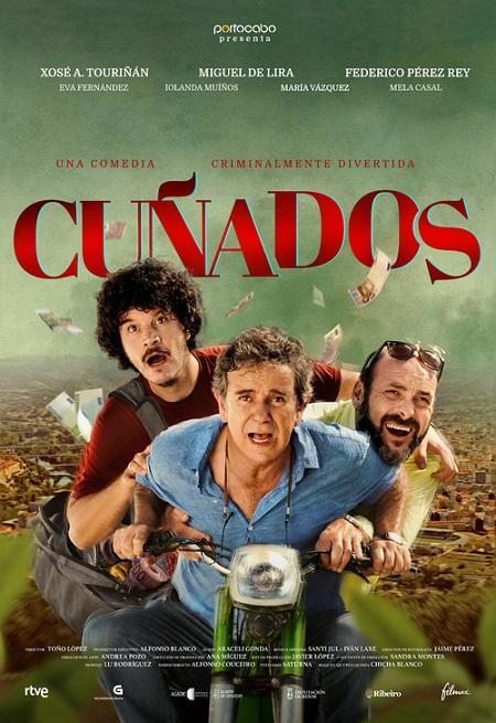 Póster de Cuñados. FILMAX