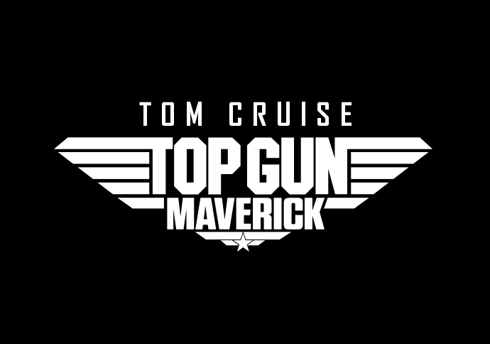 Logo Top Gun Maverick. Paramount