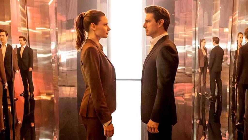 Rebecca Ferguson y Tom Cruise volverán en Misión imposible 7 y 8. PARAMOUNT