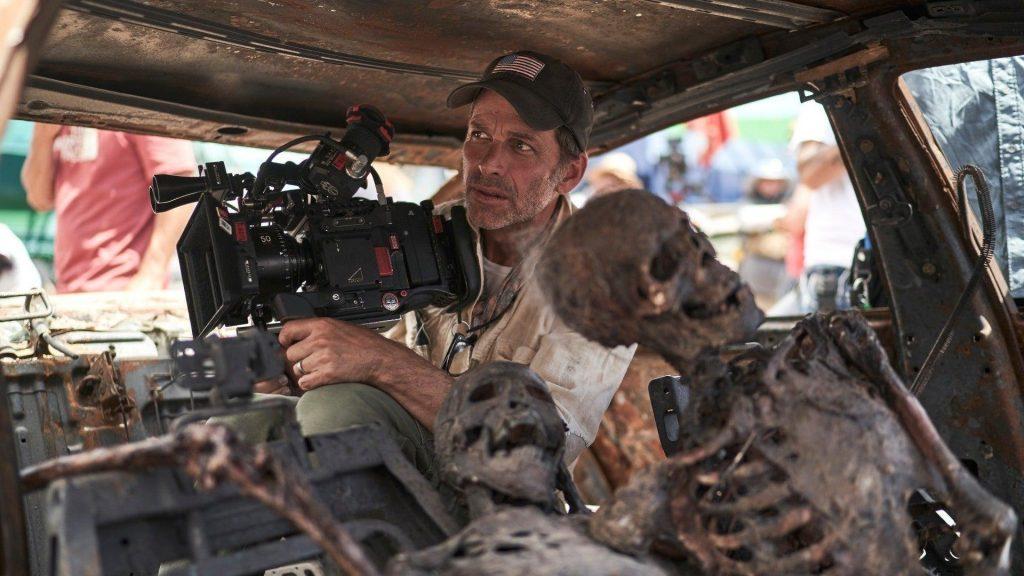 Zack Snyder en pleno rodaje de Ejército de los muertos. NETFLIX