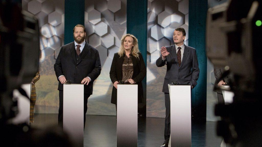 Fotograma de The Minister la serie islandesa que está dando mucho de qué hablar. AMC