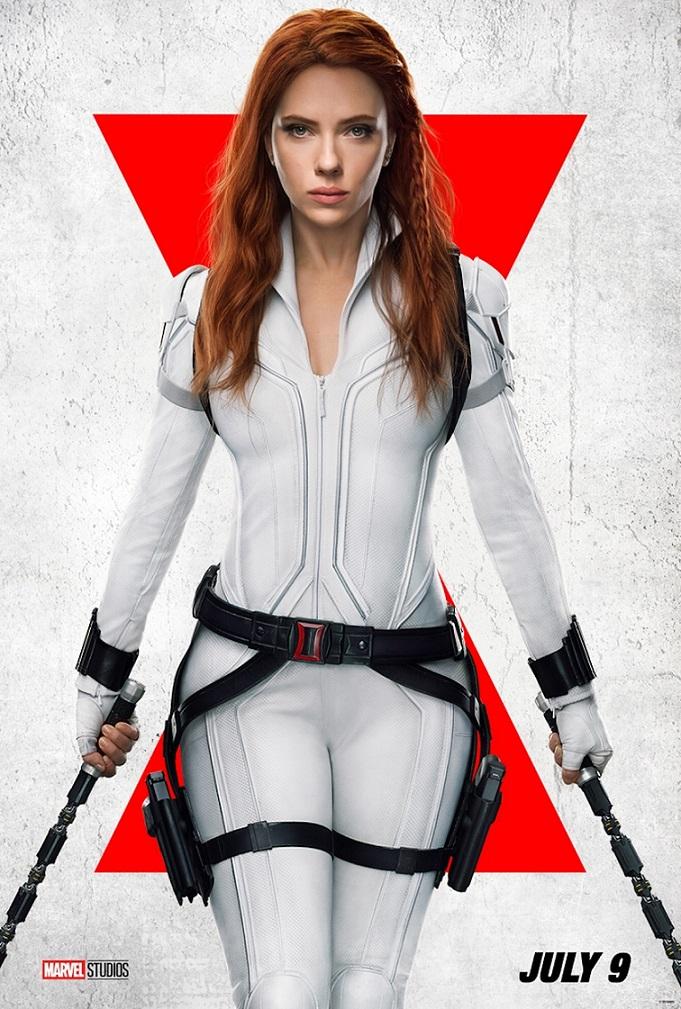 Scarlett Johansson nos visitará en los cines el 9 de julio. MARVEL