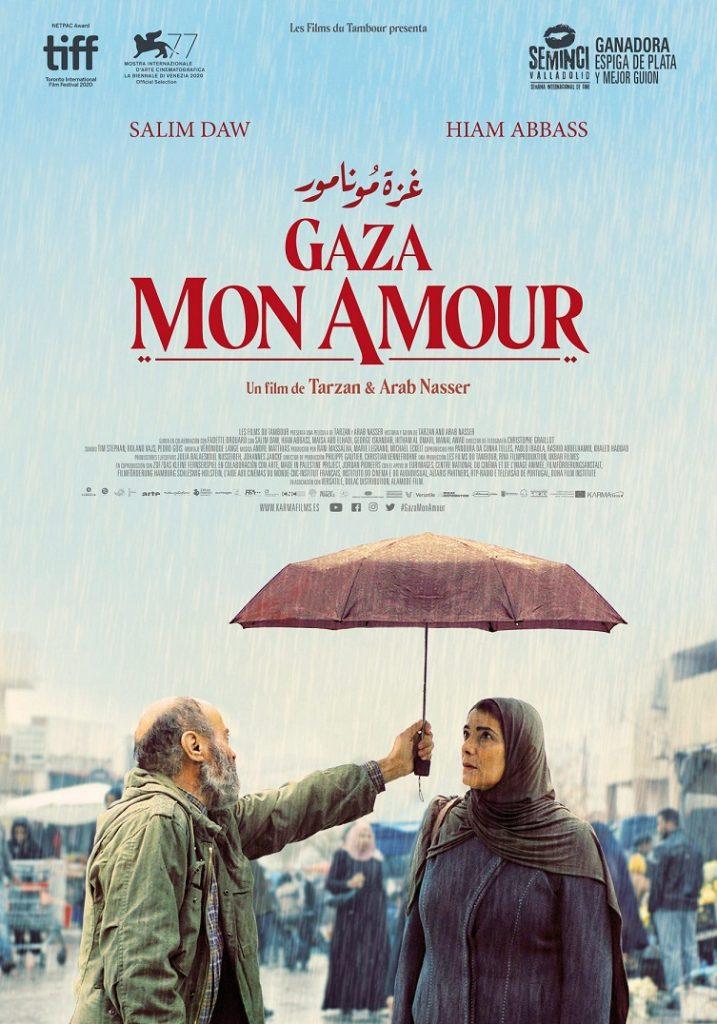 Póster de Gaza mon amour. KARMA FILMS