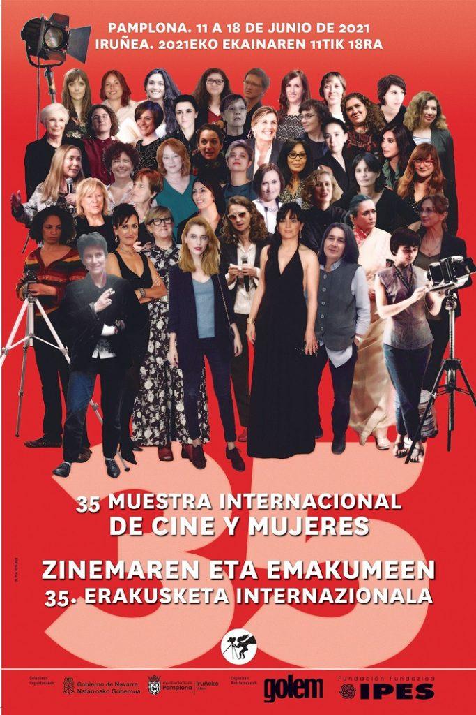 Cartel de la 35 Muestra Internacional de Cine y Mujeres