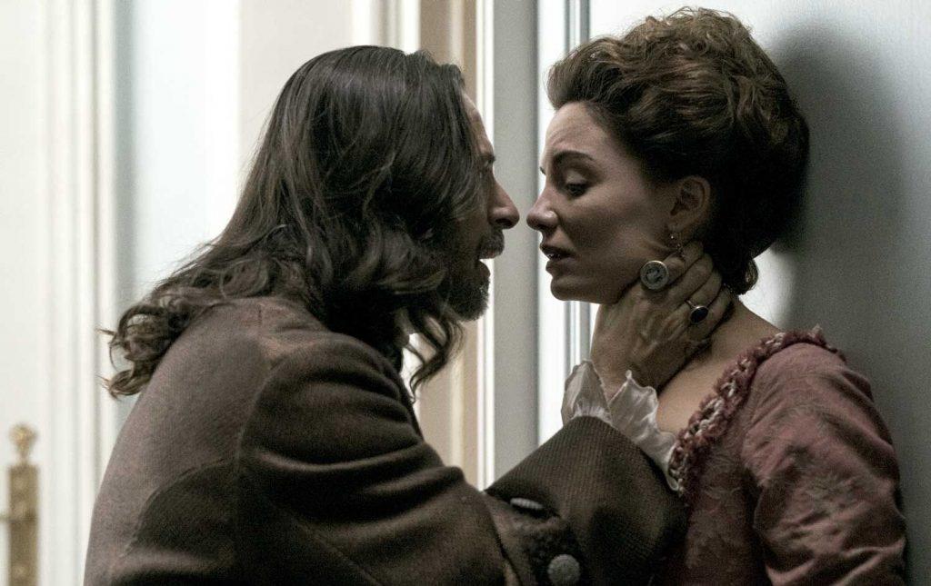 El Marqués de Soto es el violador de Amelia Castro en La cocinera de Castamar