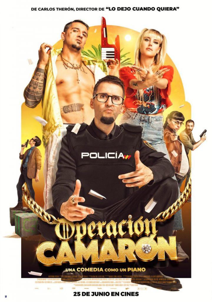 Póster de Operación Camarón. BUENA VISTA