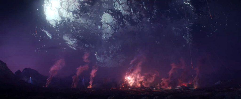 el planeta Lamentis apunto de desaparecer