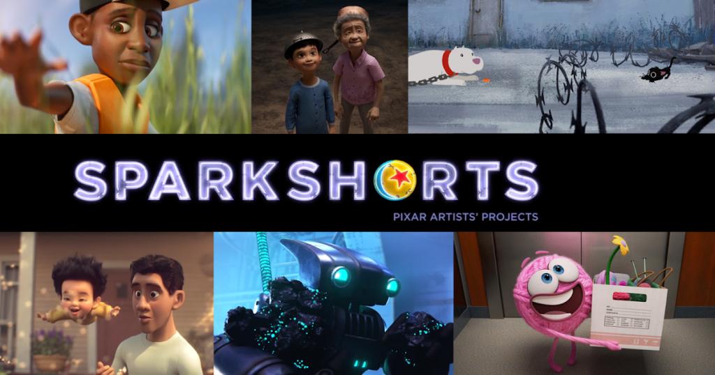 Sparkshorts como la cantera de nuevos creadores de Pixar.